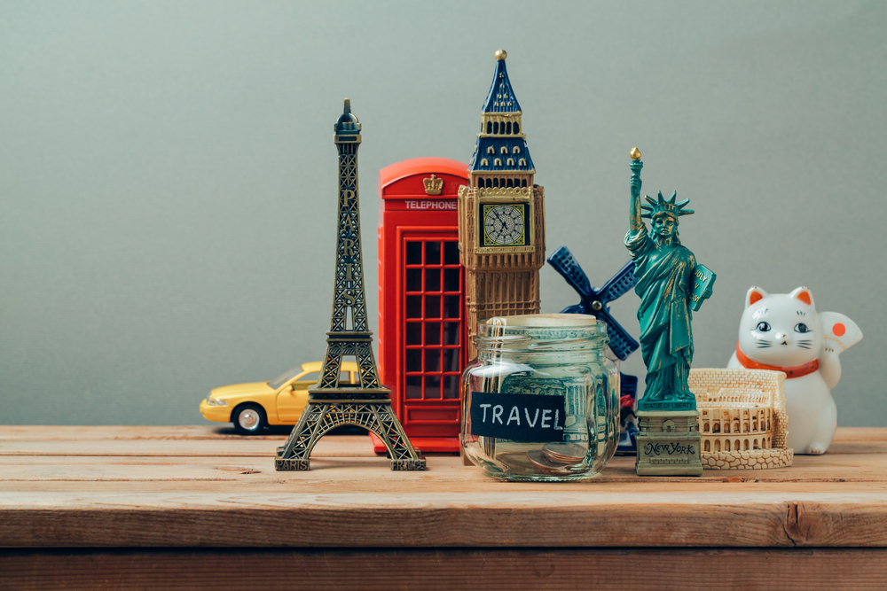 figurines of monuments